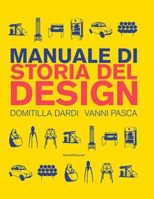 Nordestcaffeisola.it Manuale di storia del design. Ediz. a colori Image