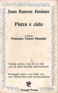 Libro Pietra e cielo J. Ramón Jiménez