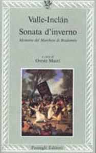 Libro Sonata d'inverno. Memorie del marchese di Bradomin Ramón del Valle-Inclán