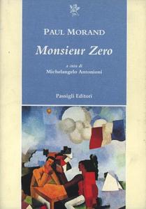Libro Monsieur Zero Paul Morand