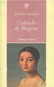 Libro Gabrielle de Bergerac Henry James