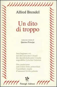 Libro Un dito di troppo Alfred Brendel
