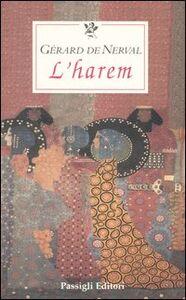 Libro L' harem Gérard de Nerval
