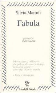 Libro Fabula Silvia Martufi