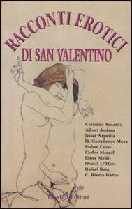 Libro Racconti erotici di San Valentino