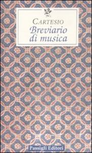 Libro Breviario di musica Renato Cartesio