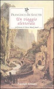 Un viaggio elettorale - Francesco De Sanctis - copertina