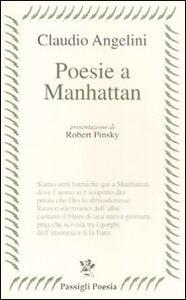 Libro Poesie a Manhattan Claudio Angelini