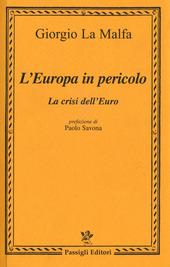 L' Europa in pericolo. La crisi dell'euro