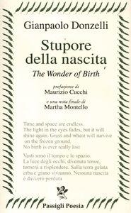 Libro Stupore della nascita. Ediz. italiana e inglese Gianpaolo Donzelli