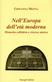 Criticalwinenotav.it Nell'Europa dell'età moderna. Memoria collettiva e ricerca storica Image