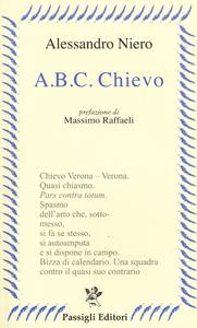 Libro A. B. C. Chievo Alessandro Niero