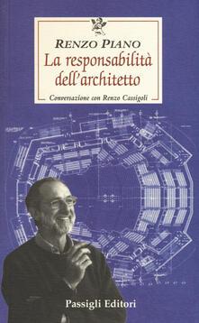 Radiospeed.it La responsabilità dell'architetto. Conversazione con Renzo Cassigoli Image