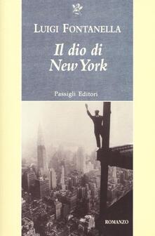 Il dio di New York - Luigi Fontanella - copertina