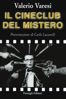 Il cineclub del mistero - Valerio Varesi - copertina