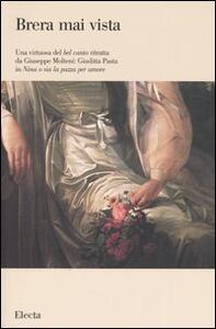 Una virtuosa del bel canto ritratta da Giuseppe Molteni: Giuditta Pasta in «Nina o sia la pazza per amore»