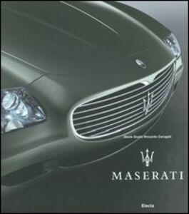 Libro Maserati Decio G. Carugati , Beba Marsano