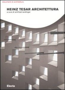 Libro Heinz Tesar architettura