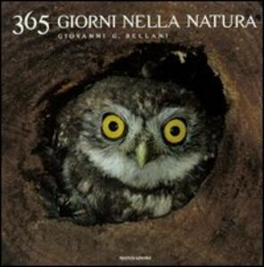 Trecentosessantacinque giorni nella natura - Giovanni G. Bellani - copertina