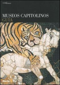 Museos capitolinos. Guía - copertina
