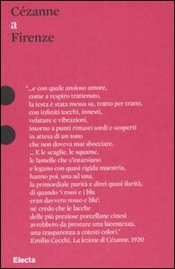 Libro Cézanne a Firenze