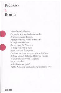 Libro Picasso a Roma Valentina Moncada