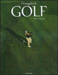 Libro Omaggio al golf Mario Camicia