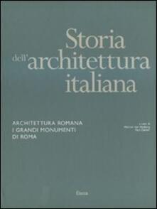 Cocktaillab.it Storia dell'architettura italiana. Architettura romana. I grandi monumenti di Roma Image