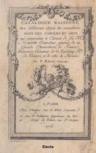Libro La vente Mariette. Le catalogue illustré par Gabriel de Saint-Aubin. Ediz. italiana, inglese e francese