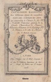 La vente Mariette. Le catalogue illustré par Gabriel de Saint-Aubin. Ediz. italiana, inglese e francese