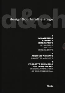 Design & cultural heritage. Ediz. italiana e inglese
