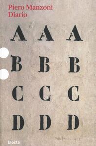 Il diario di Piero Manzoni (1954-55)