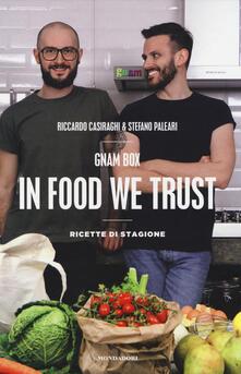 Radiospeed.it Gnam box. In food we trust. Ricette di stagione Image