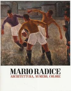 Libro Mario Radice. Architettura, numero, colore. Catalogo della mostra (Rovereto, 15 febbraio-8 giugno 2014)