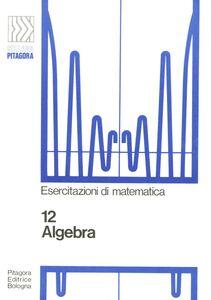 Foto Cover di Algebra, Libro di Bruno D'Amore, edito da Pitagora