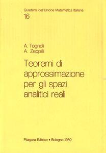 Teoremi di approssimazione per gli spazi analitici reali