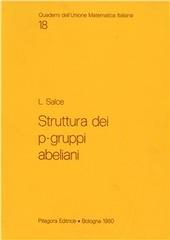 Struttura dei p-gruppi abeliani