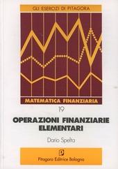 Operazioni finanziarie elementari