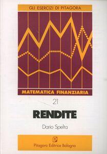 Libro Rendite Dario Spelta