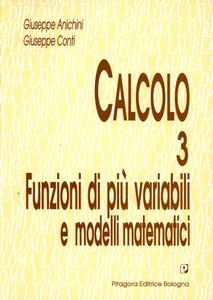 Libro Calcolo. Vol. 3: Funzioni di più variabili e modelli matematici. Giuseppe Anichini , Giuseppe Conti