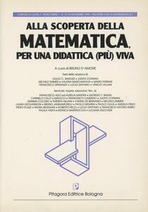 Alla scoperta della matematica per una didattica (più) viva