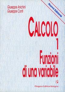 Libro Calcolo. Vol. 1: Funzioni di una variabile. Giuseppe Anichini , Giuseppe Conti