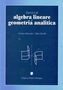 Ristorantezintonio.it Esercizi di algebra lineare e geometria analitica Image