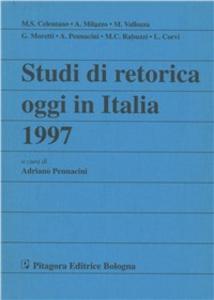Libro Studi di retorica oggi in Italia 1997