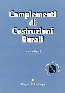 Criticalwinenotav.it Complementi di costruzioni rurali. Con CD-ROM Image
