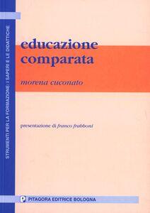 Libro Educazione comparata Morena Cuconato