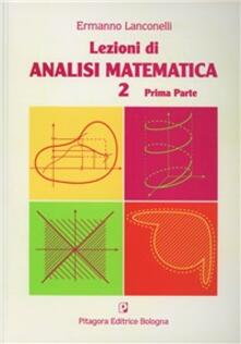 Grandtoureventi.it Lezioni di analisi matematica 2. Vol. 1 Image