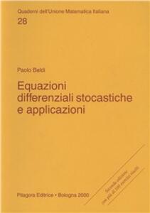 Equazioni differenziali stocastiche e applicazioni
