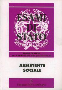 Foto Cover di Esame di Stato per l'abilitazione alla professione di assistente sociale, Libro di  edito da Pitagora