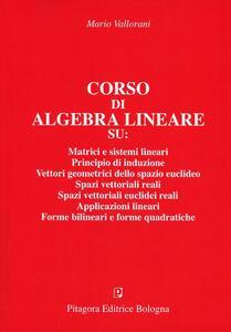 Corso di algebra lineare